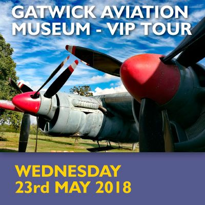 Gatwick Aviation Museum - VIP Tour - May 2018