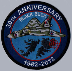 Black Buck Raids - 30th Anniversary Patch